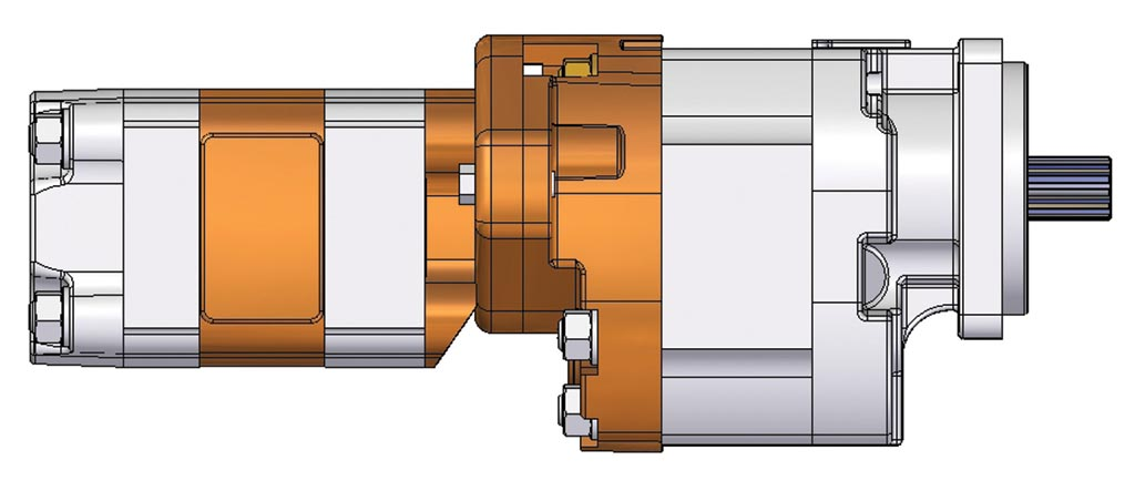 GPM 3D Drawing of a Gear Pump-4