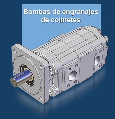 GPM Bombas de engranajes de cojinetes
