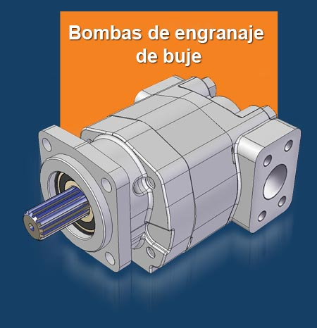 GPM Gama de Bomba de Engranaje de Buje