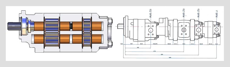 GPM pump design drawings