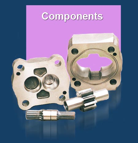 GPM Gear Pump Components