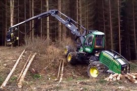 Forestry vehicle