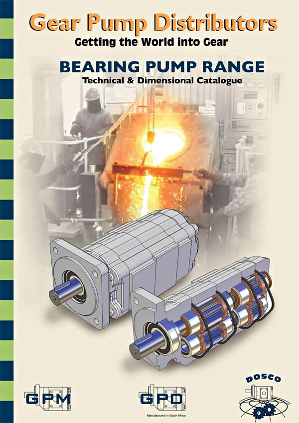 GPM Bearing Gear Pumps Brochure (older)